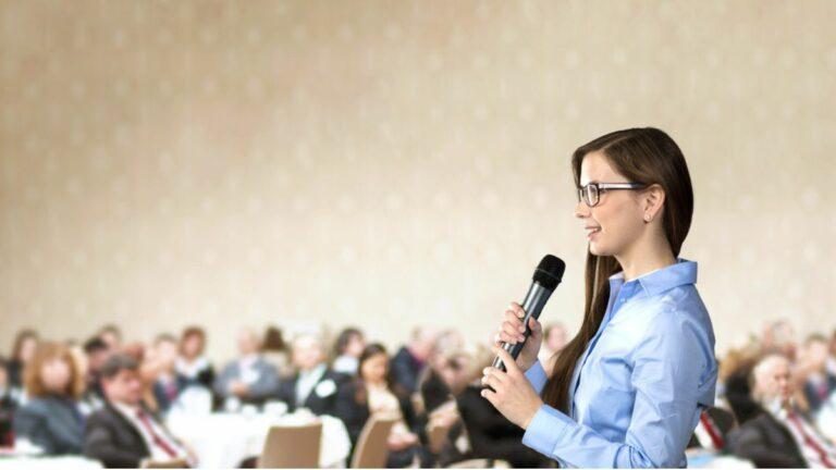 Cursuri de imagine și vorbire în public