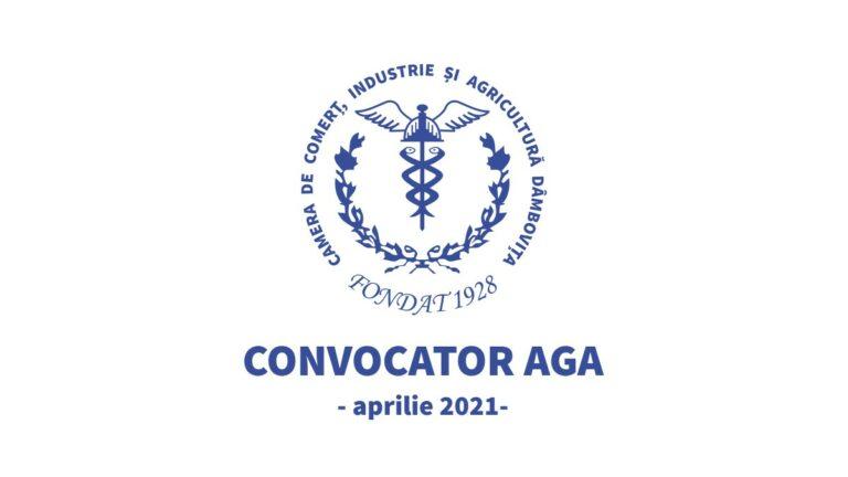 Convocator AGA aprilie 2021