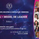 Comunicat de presă: Conferința online – FEMEIA, MODEL DE LEADER