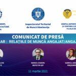 """Comunicat: Seminarul de informare """"Relațiile de muncă angajat/angajator"""""""