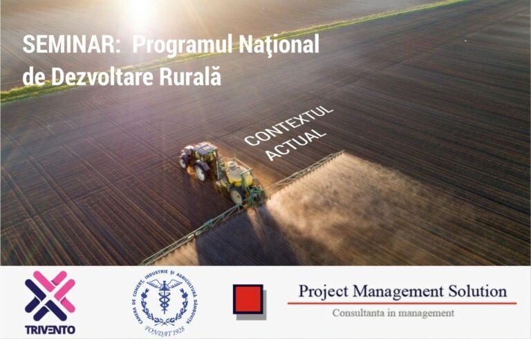 Read more about the article Comunicat de presă Seminarul: Programul Național de Dezvoltare Rurală – Context actual