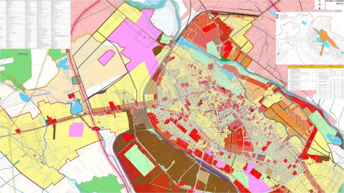 You are currently viewing Versiune preliminară a noului Plan Urbanistic General (PUG) al Municipiului Târgoviște