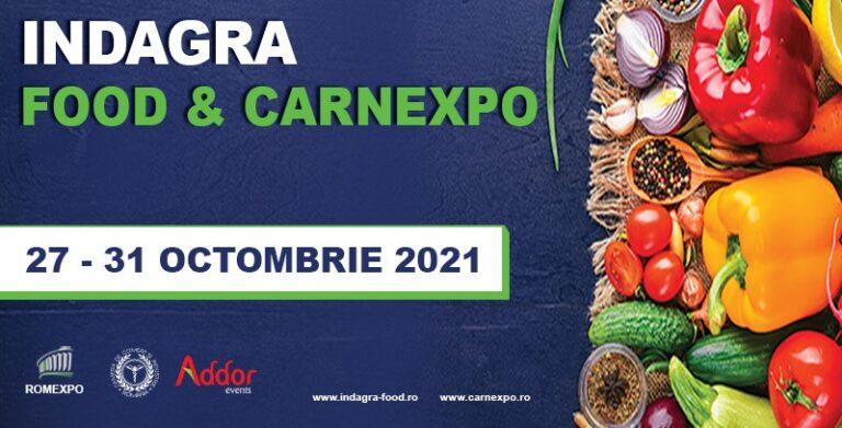 Read more about the article Întreaga industrie alimentară se reunește la Indagra Food & Carnexpo 2021