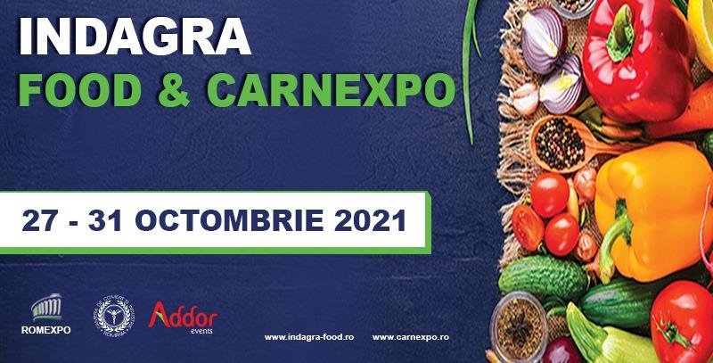 You are currently viewing Întreaga industrie alimentară se reunește la Indagra Food & Carnexpo 2021