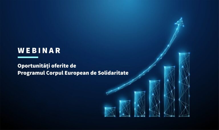 Read more about the article Oportunități oferite de Programul Corpul European de Solidaritate (webinar)