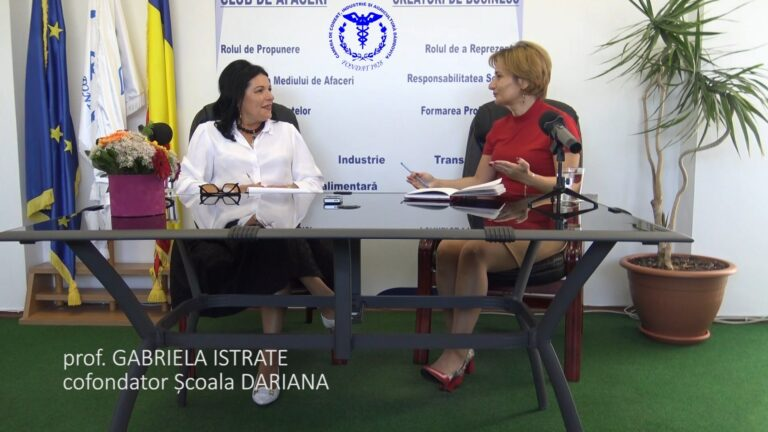 Read more about the article Podcast #1 INTERVIU GABRIELA ISTRATE – ANDA STEFAN