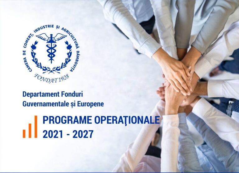 Read more about the article Programe Operaționale 2021-2027